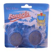 WC-Rincage bleu bloc 2x45gr Bonaria
