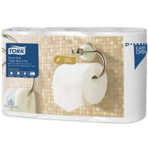 TORK Papier toilette blanc 4 épais 150 fl 6 rouleaux 110405