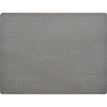 Duni Sets de table Silicone 30x45cm Gris 1pc