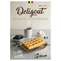 Deligout Gaufres Belges de Tradition 24pieces surgelées