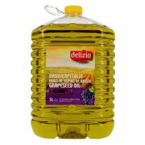 Huile de pepins de raisin 5L Delizio (Olie)