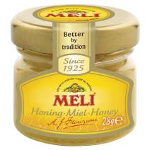 Meli miel solide crémeux 34x28gr bocaux