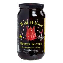 Fleurs d'Hibiscus Sauvage au sirop 1100gr bocal