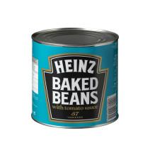 Heinz Baked Beans Haricots blancs avec sauce de tomates 2.6kg en boite