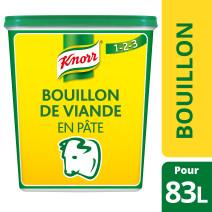 Knorr bouillon de viande en pâte 1.5kg