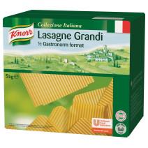 Knorr pates Lasagne Grandi 5kg Collezione Italiana