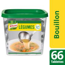 Knorr bouillon de legumes 66 tablettes