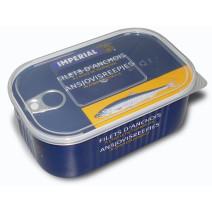 Imperial Filets d'anchois alongés à l' huile de tournesol 800gr en boite