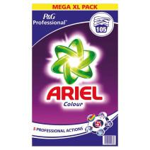 Ariel Color 105dos lessive en poudre concentré P&G Professional
