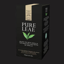 Pure Leaf Thé Noir avec des Notes de Vanille 25 sachets