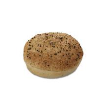 Black Pepper Hamburger Bun 12.5cm 36x90gr Pastridor 2638