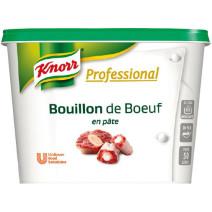 Knorr Gourmet bouillon de boeuf en pâte 1kg Professional