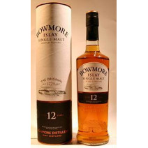 Bowmore 12 Ans d'Age 70cl 40% Islay Single Malt Whisky Ecosse
