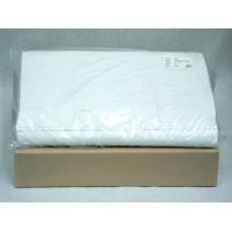 Nappes Damassees Blanches Papier 60gr 80x80cm 500pc