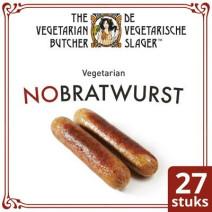 De Vegetarische Slager No Bratwurst 2.16kg Diepvries