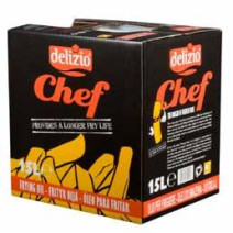 Delizio Chef 15L huile de friture