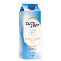 Blanc d'oeuf liquide pasteurisé 1L Cocovite