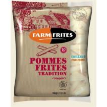 Farm Frites Frites Fraiches Precuites 10.5mm Tradition 2x5kg
