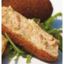 Azetti Croquettes aux Crevettes Grises 80 gram Artisan 20pc Surgelées
