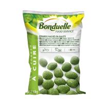 Epinards Hachés en Galets 2.5kg Légumes Surgelé Bonduelle Food Service