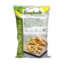 Melange de Legumes Duo de Carottes et Panais 2.5kg Bonduelle