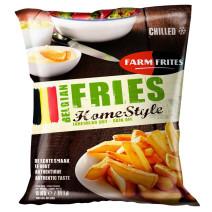 Farm Frites Frites Belges Fraiches Precuites Home Style 2x5kg