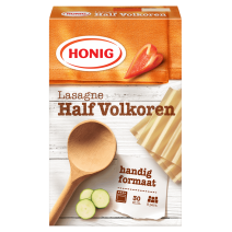 Honig pates lasagne en feuilles Integrale 250gr Professional