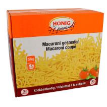 Honig pates macaroni coupé 5kg Professional resistant à la cuisson