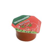 Portions Ketchup en coupelles 120x20ml Risso Vandemoortele