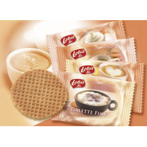 Biscuits Galettes Fines emballé 300pc Lotus Bakeries