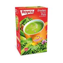 Royco Minute Soupe pois+jambon 25pc Classic