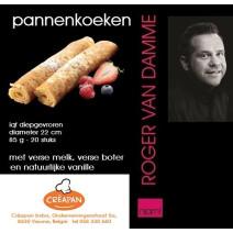 Pannenkoeken 22cm 20x85gr IQF Roger Van Damme
