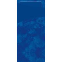 Sacchetto bleu 200x85 papier+serviette 100pc