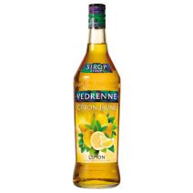 Vedrenne Sirop de Citron Jaune 1L 0%