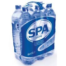 Spa Reine Eau Minerale Naturelle 1.5L bouteille PET