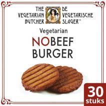 De Vegetarische Slager NoBeef Burger 2.4kg Diepvries
