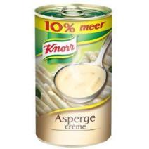 Knorr creme d'asperges 0.5L soupe en conserve