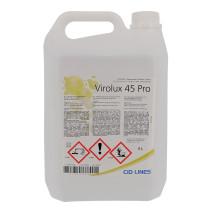 Virolux 45 Pro Nettoyant Desinfectant 5L Cid Lines Professionnel