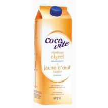 Jaune d'Oeufs liquide pasteurisé 1L Cocovite