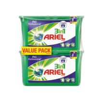 Ariel Regulier doses de lessive liquide 3in1 Pods 2x42pc