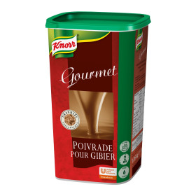 Knorr Gourmet sauce poivrade pour gibier 1.26kg