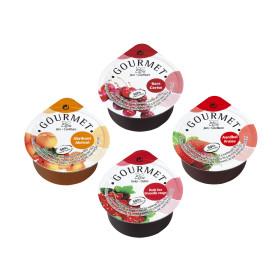 Portions confiture mélanges 50% 100x25gr Gourmet