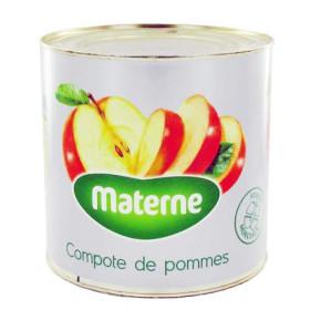 Compote de pommes avec morceaux 3L Materne