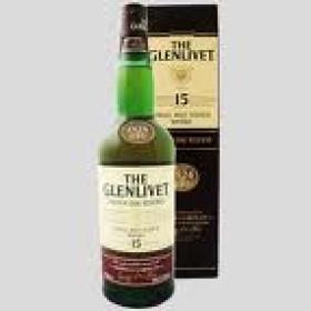 The Glenlivet 15 Ans d'Age 70cl 40% Speyside Single Malt Whisky Ecosse