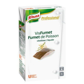 Knorr Professional fumet de poisson liquide 1L Brick