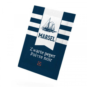 Marsel Portions de Poivre Noir moulu en sachet 1000pc 0.14gr/sachet