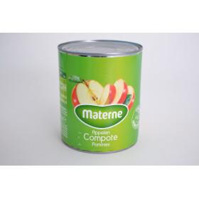 Compote de pommes avec morceaux 1L Materne