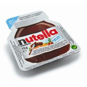 Ferrero Nutella portions choco noisette coupelle 120x15g