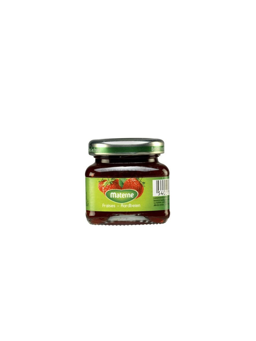 Materne Strawberry Jam 28gr