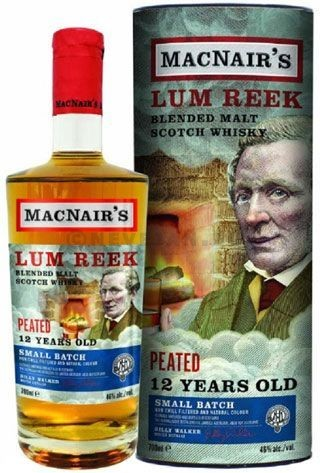 MacNear's Lum Reek 12Years Peated 70cl 46% Blended Malt Scotch Whisky